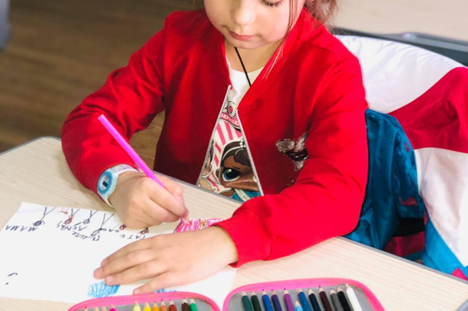 """Децата от 172 ОУ """"Христо Ботев"""" рисуват своята 2021 година"""