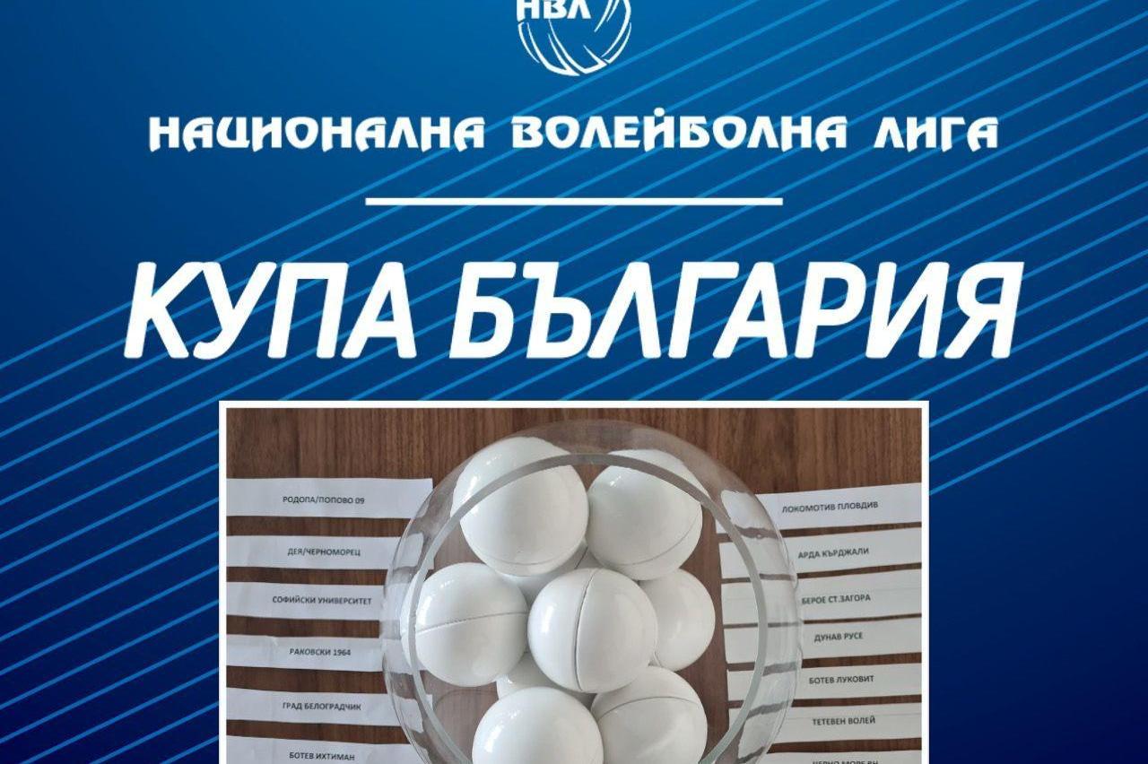 """""""Софийски университет"""" срещу """"Ботев"""" (Луковит) във II кръг на волейболната"""