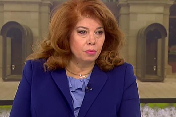 Вицепрезидентът Йотова с положителен тест за коронавирус