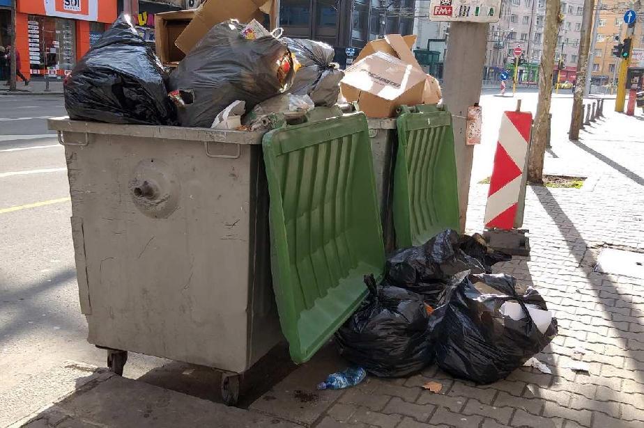Фирма отнесе глоба за смесване на отпадъци на бул. Васил Левски