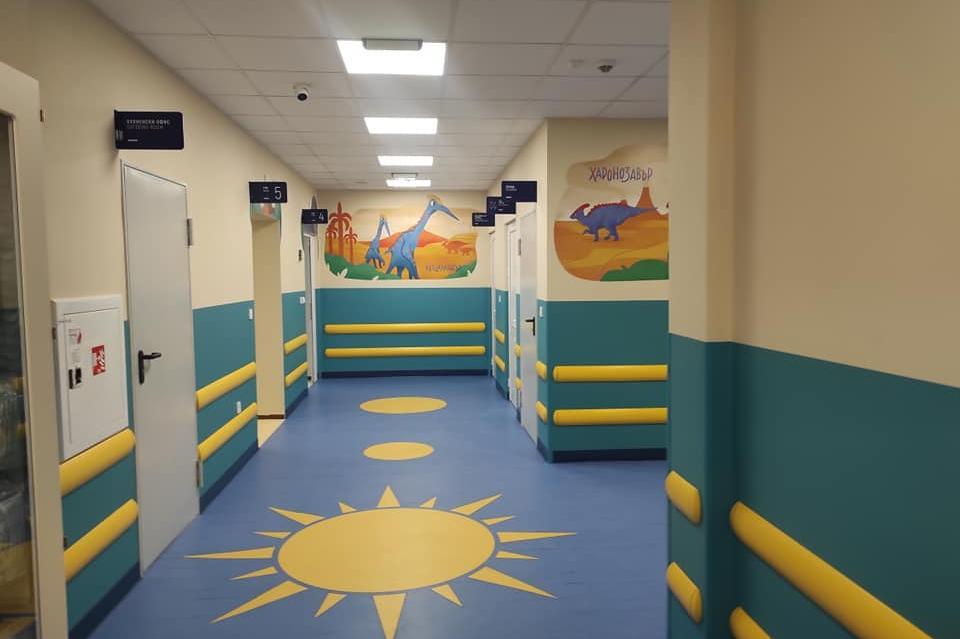"Ремонтираното детско отделение в ""Пирогов"" отваря врати на 1 март (СНИМКИ)"