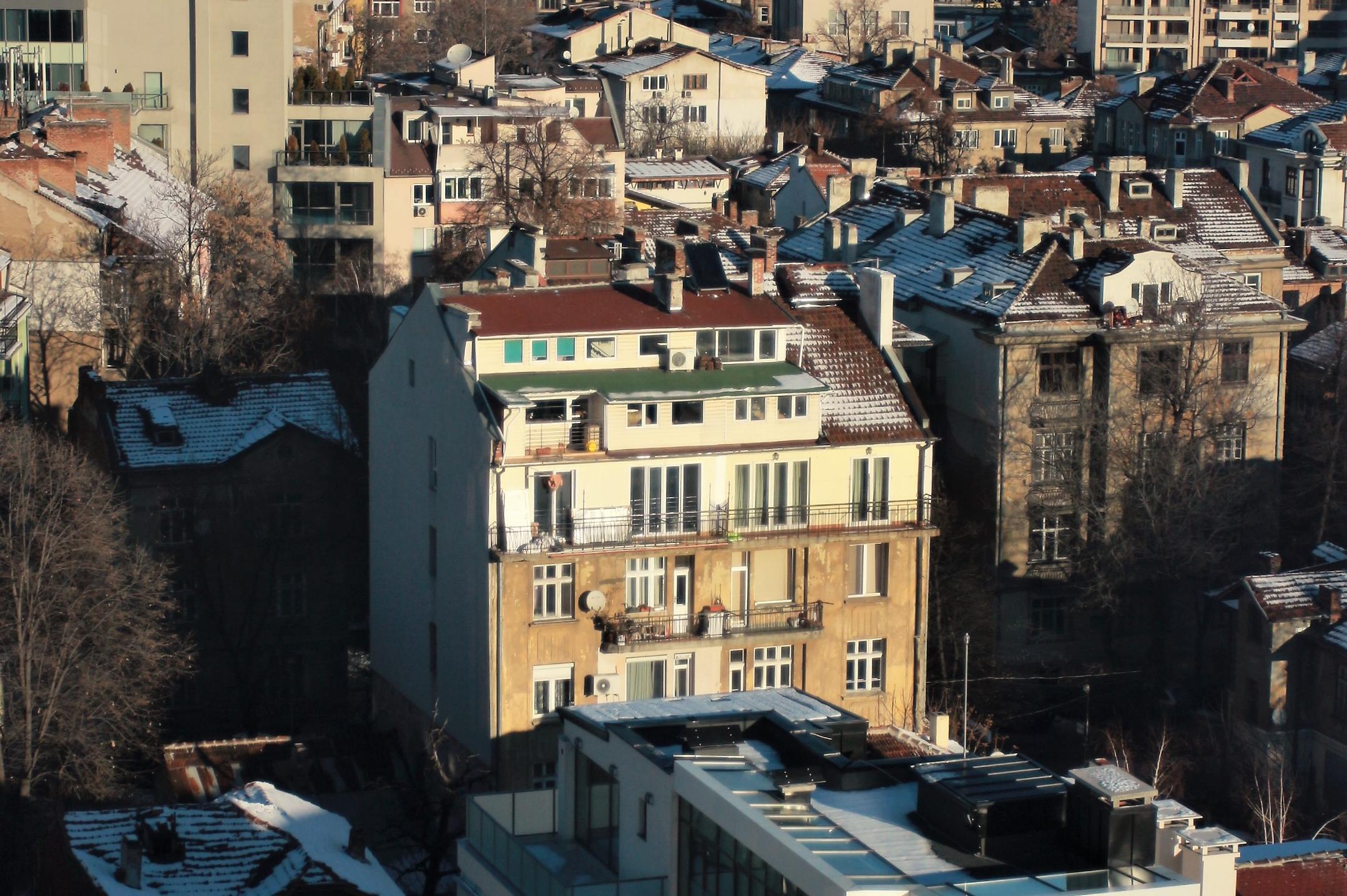 Анализ показва: София няма нужда от нови терени за жилища, а от обновяване