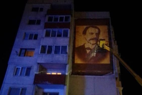 """Преди 3 март: Ликът на Раковски ще краси блок в """"Овча купел"""" 1"""