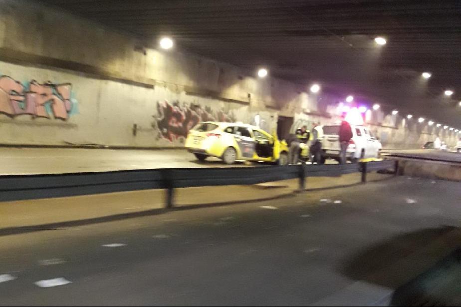 Тежка катастрофа в тунела на НДК, трафикът е натоварен
