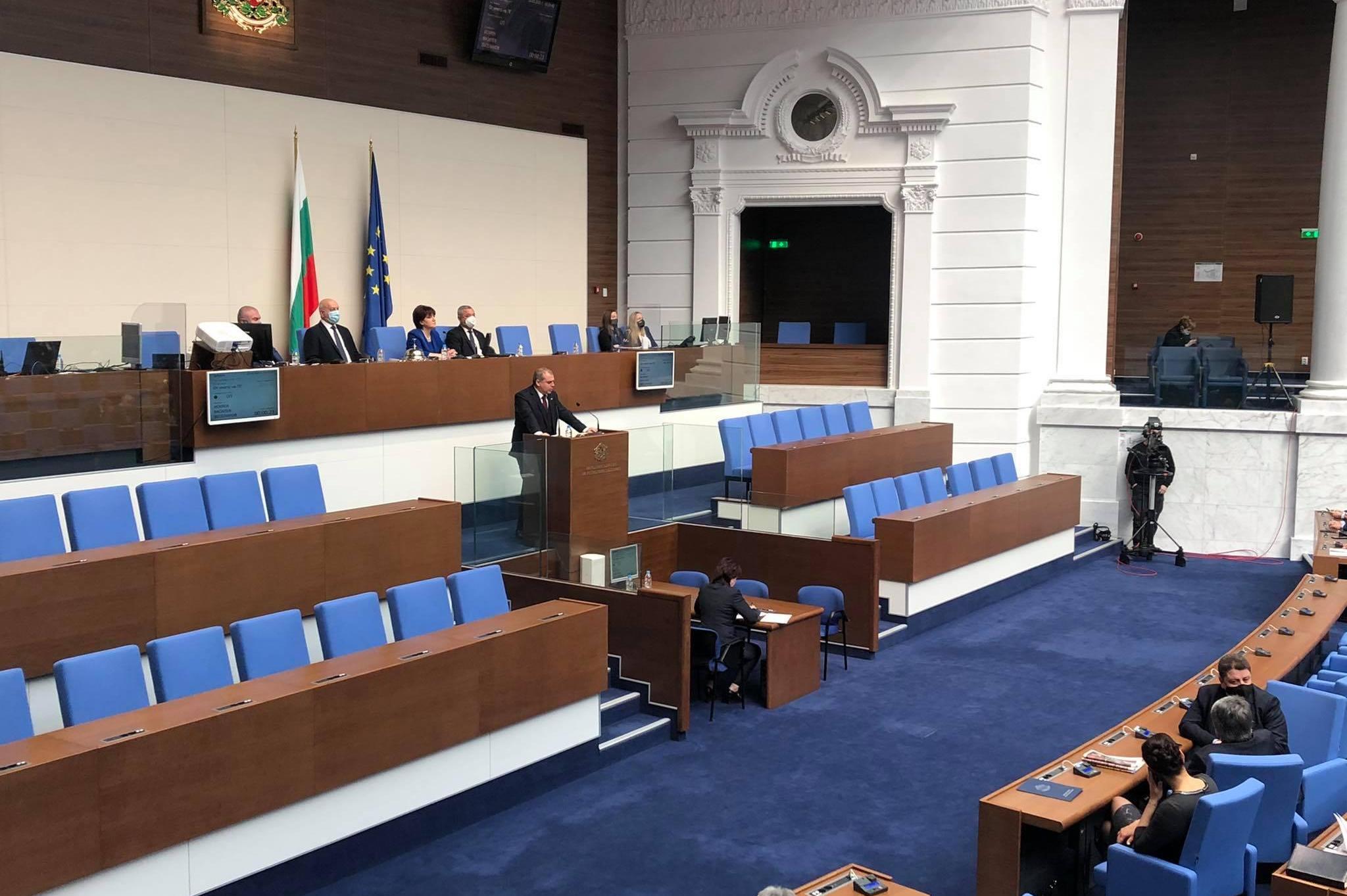 Искрен Веселинов: ВМРО изпълни дълга си пред българските граждани в 44-ото