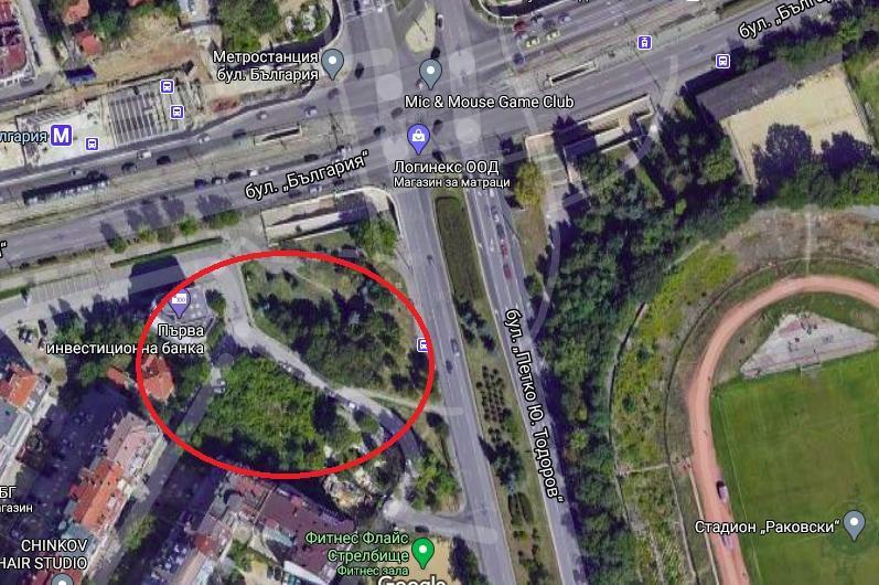 """Собственикът на частния терен на """"България"""" и """"Петко Ю. Тодорв"""" е съгласен"""