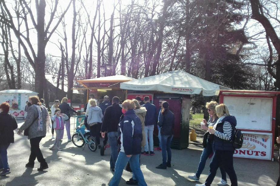 На 3 и 4 март в София: 44 проверки за търговия на открито по паркове и град