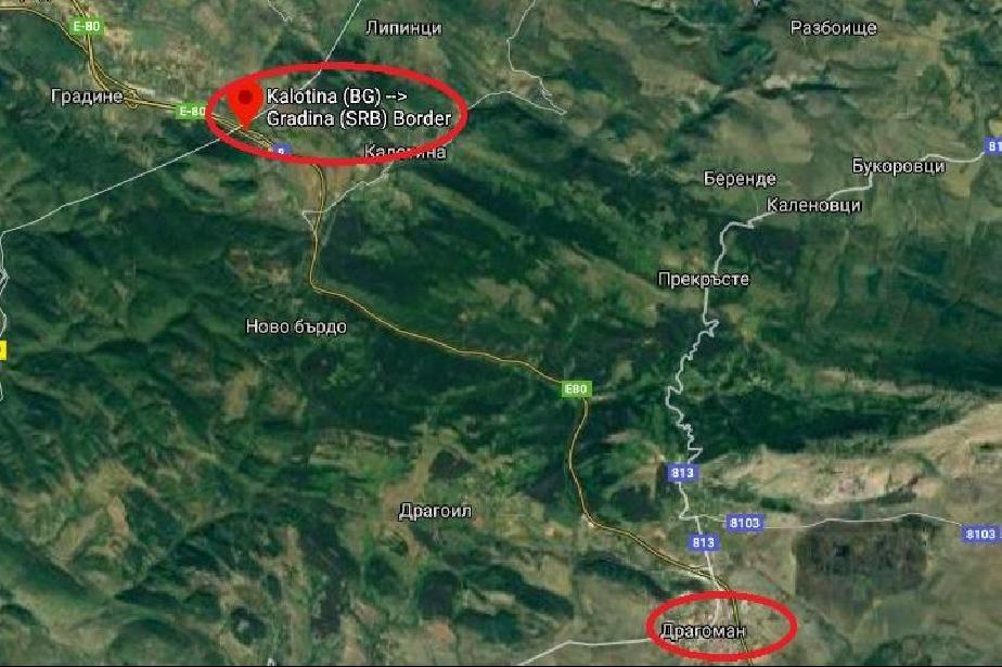 За 2 часа затварят пътя Калотина - Драгоман в двете посоки