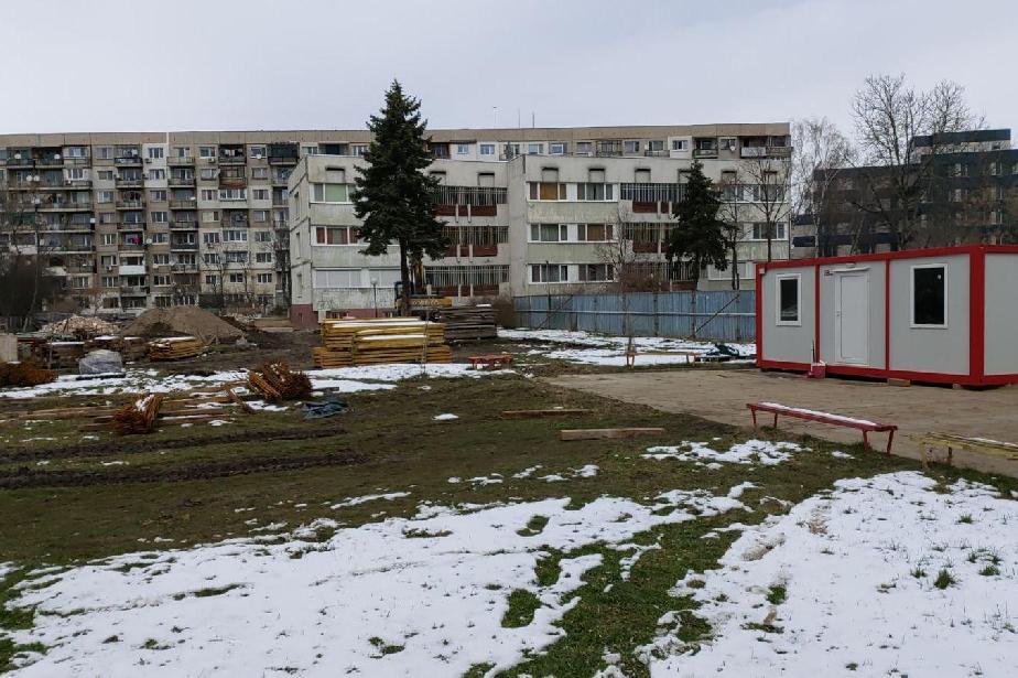 """Строят нова сграда към 177 ДГ """"Лютиче"""" в """"Подуяне"""""""