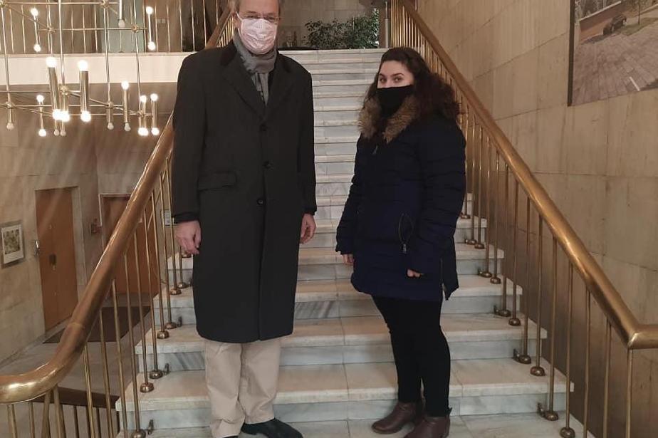 Ученичка от Банкя - Посланик за един ден в  посолството на Германия
