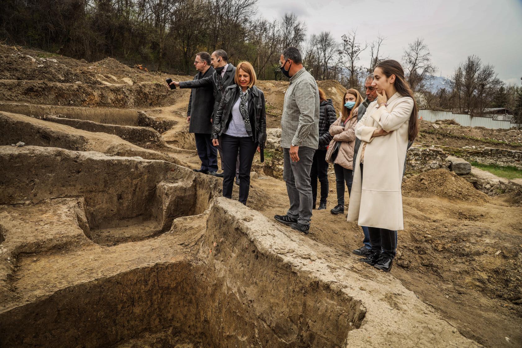В София изграждат втори археологически парк (СНИМКИ)