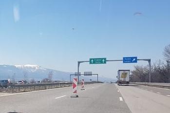 Движението към София по Хемус е ограничено заради ремонт на тунел Витиня