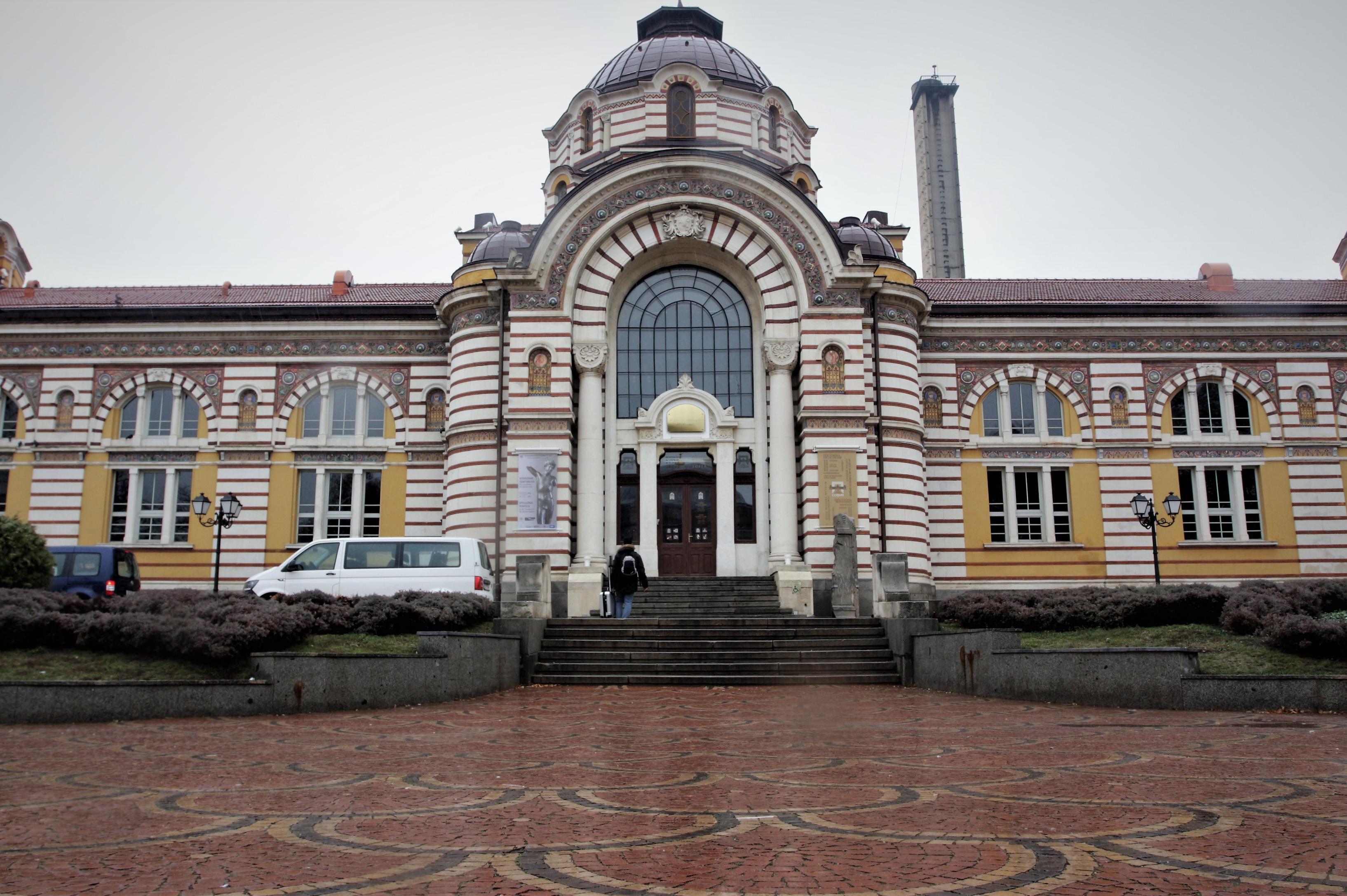 Северното и източното крило на Централна минерална баня в София стават балн