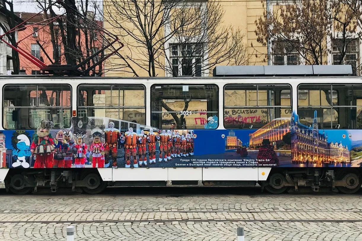 Трамвай - галерия вози столичани по линия №10 (СНИМКИ)