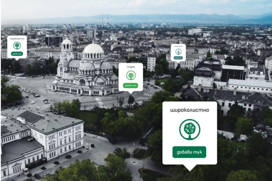 Стартира проектът за дигитална карта на дървесната растителност в София