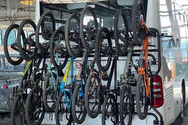 Автобусите до Витоша вече ще имат и багажници за велосипеди