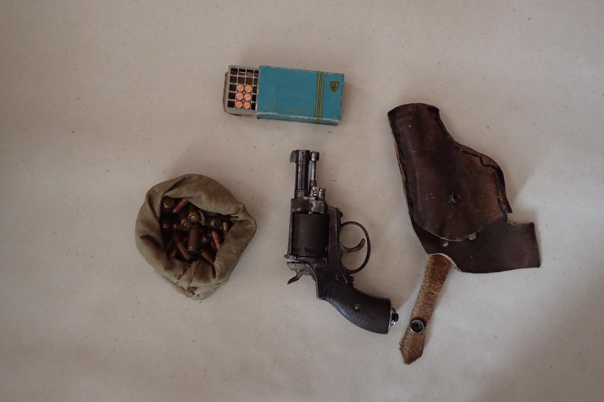 В частен имот в Момин проход намериха незаконен боен арсенал