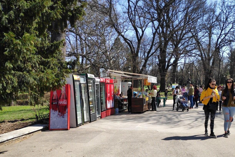"""Актове за търговия на открито- над 12 в """"Южен парк"""" и  над 10 в """"Борисовата"""