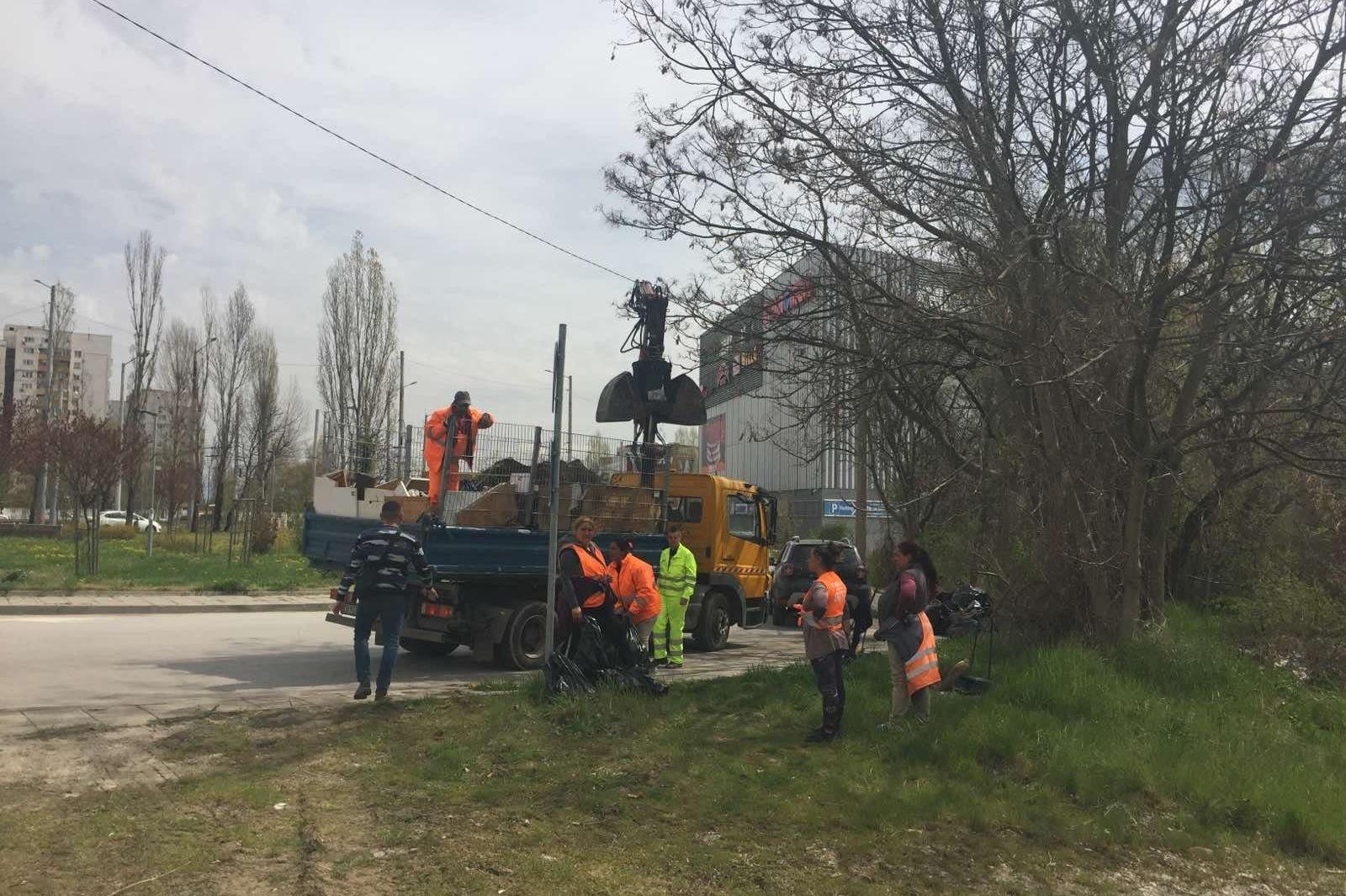 В столицата започна строителството на мини парк Западна порта в Люлин