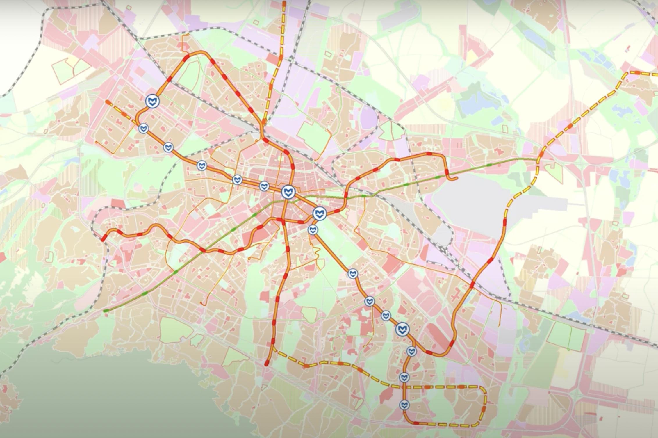 На ход са гражданите за две разклонения на метрото в  Младост