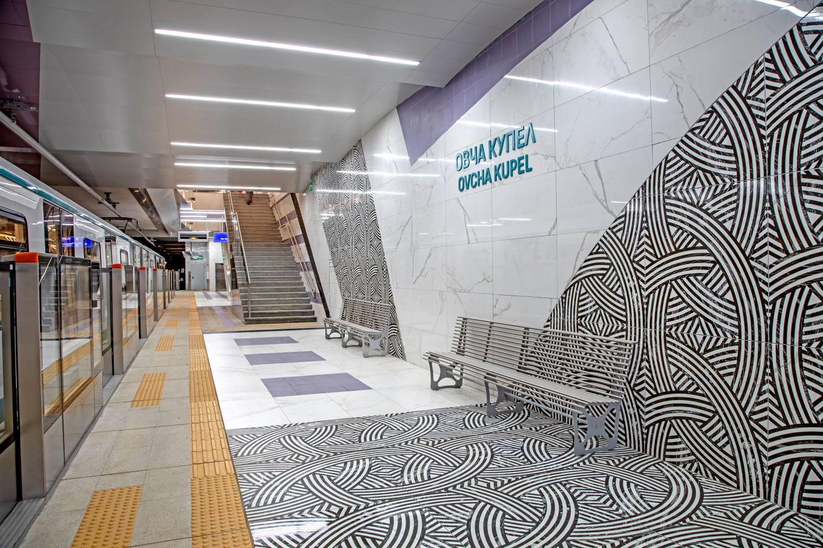 До 227 000 дневно се увеличиха пътниците в София с пускането на метрото от