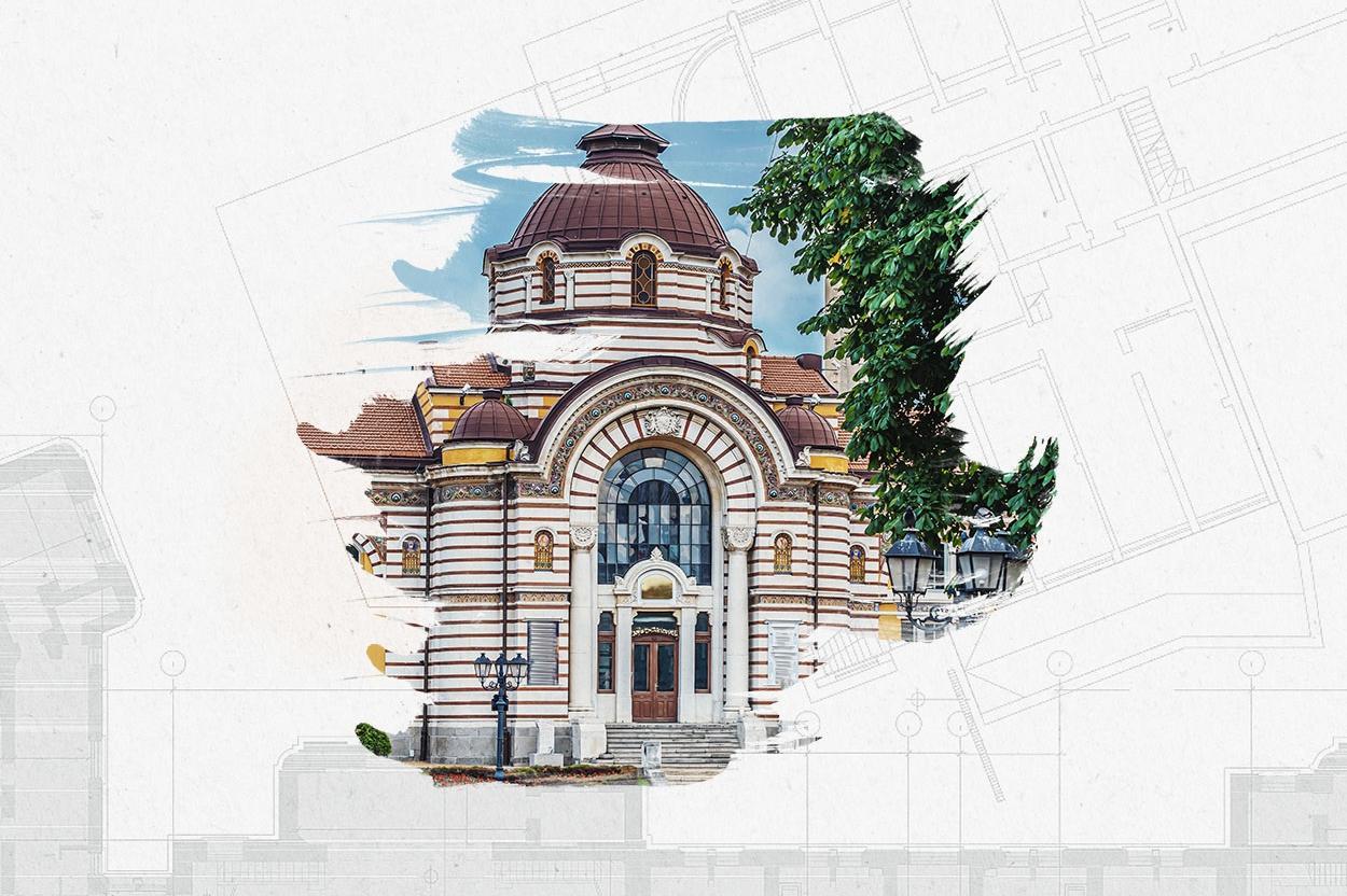 """Изработен от """"Софияплан"""" план предвижда Централна баня да има Балнеоцентър"""