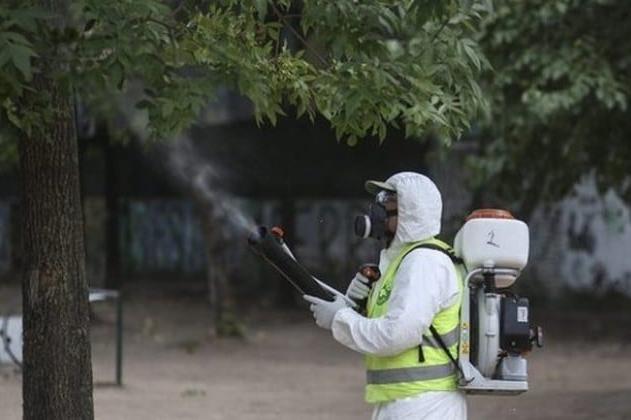 В София започва пръскането на паркове и градини срещу кърлежи