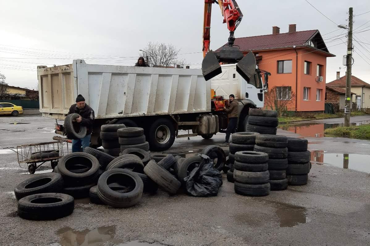 Отново се отварят площадките за събиране на стари гуми в София