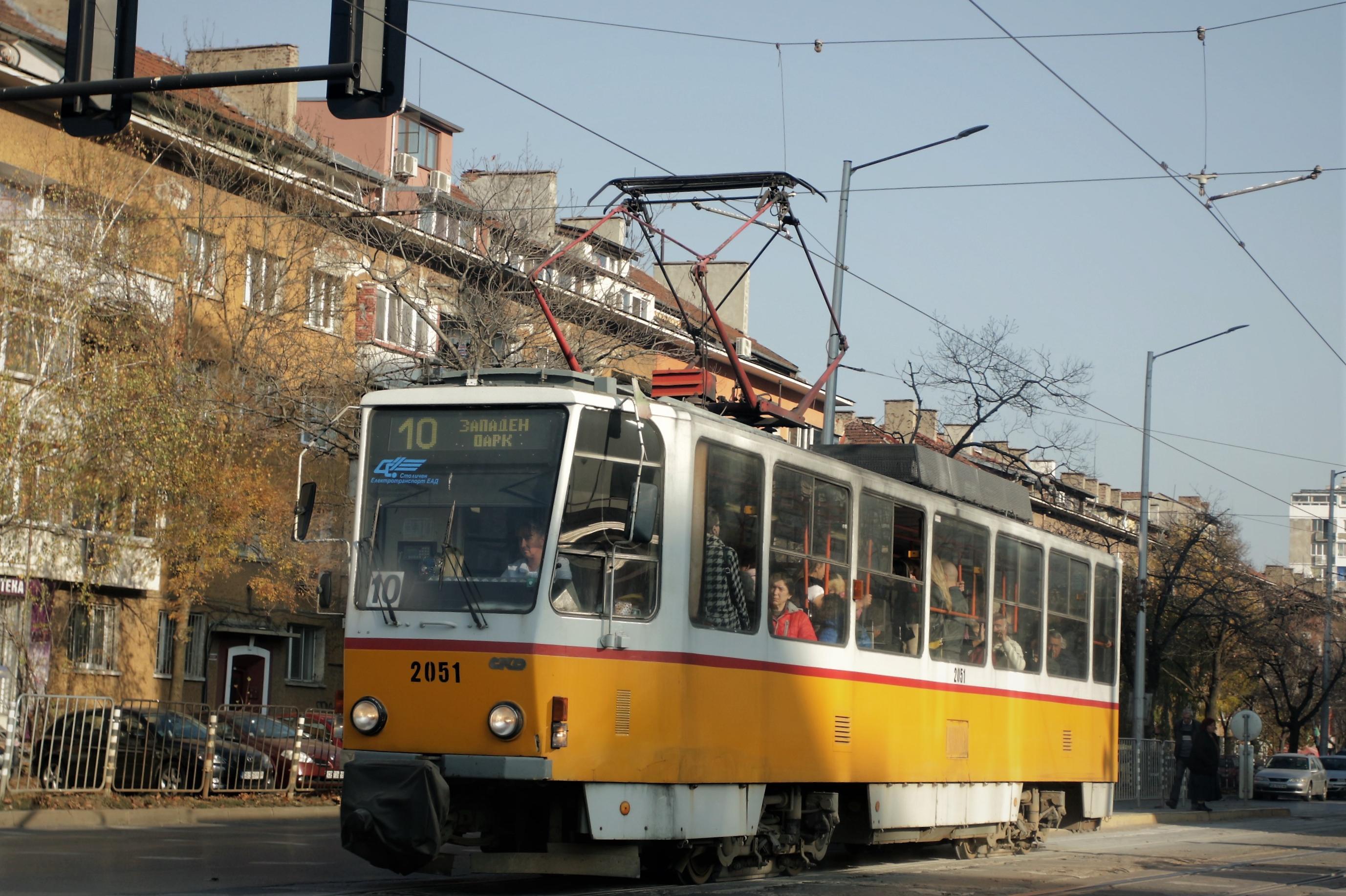 "Открита е нова двупосочна спирка на ул. ""Алабин"" за трамваи 4 и 10"