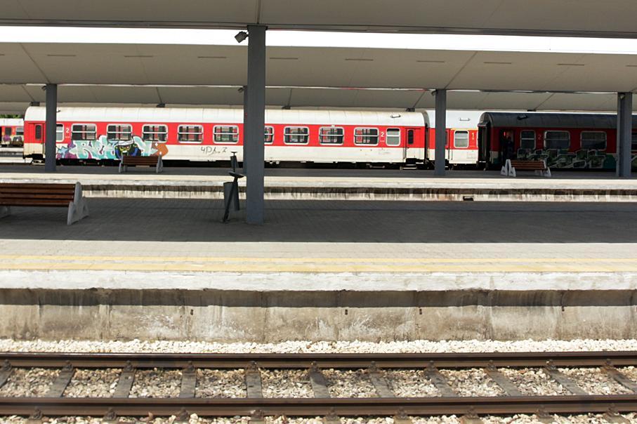 На Централна гара София стартира ремонт на 7 коловоза