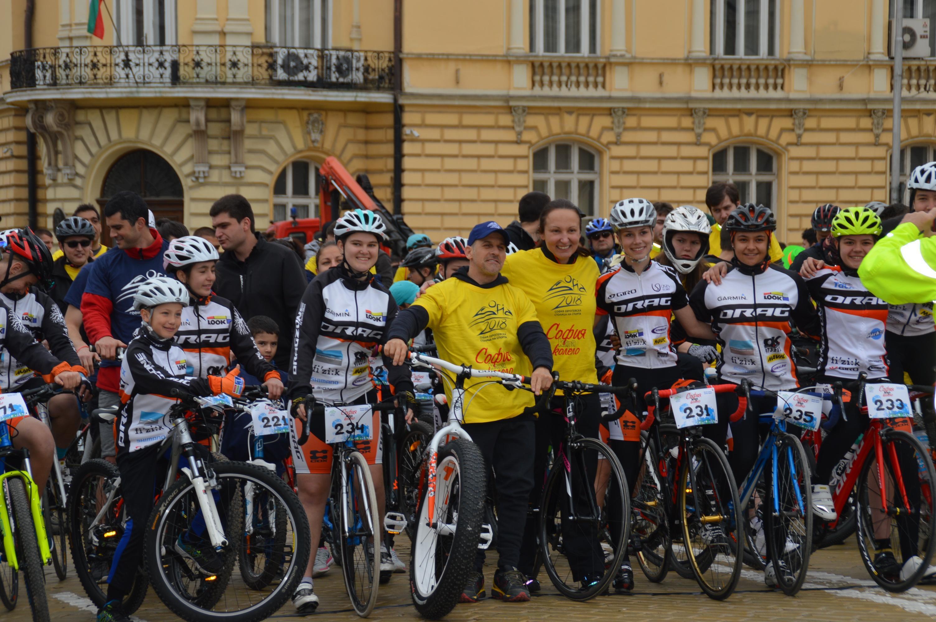 """Велошествие и крос """"За по-чист въздух"""" в столицата, колоната повеждат спорт"""
