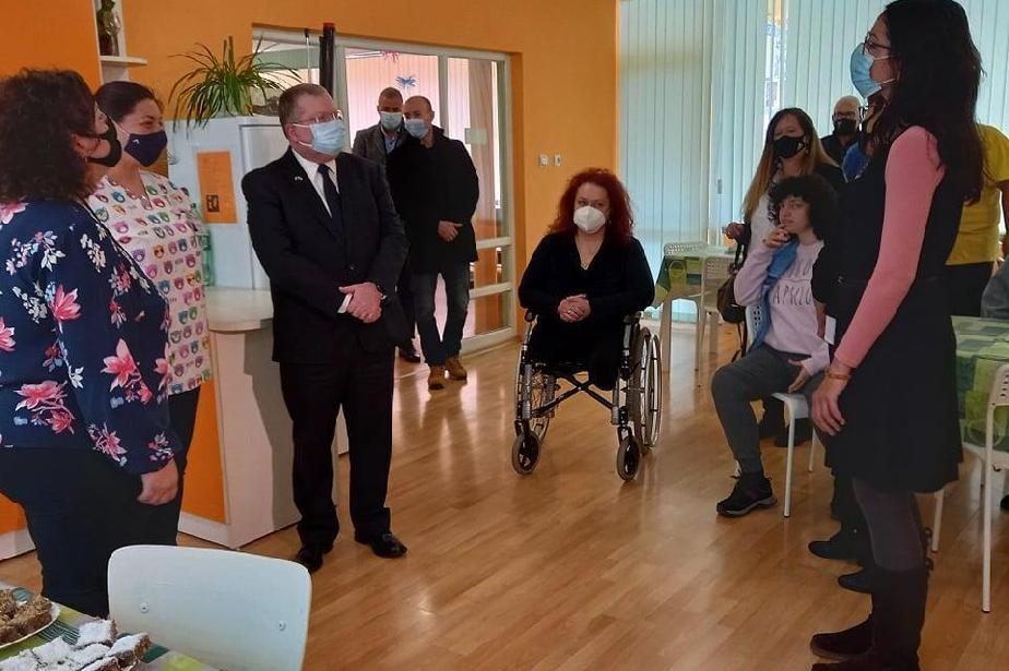 """Посолството на Израел в София направи дарение за центъра """"Света Марина"""""""