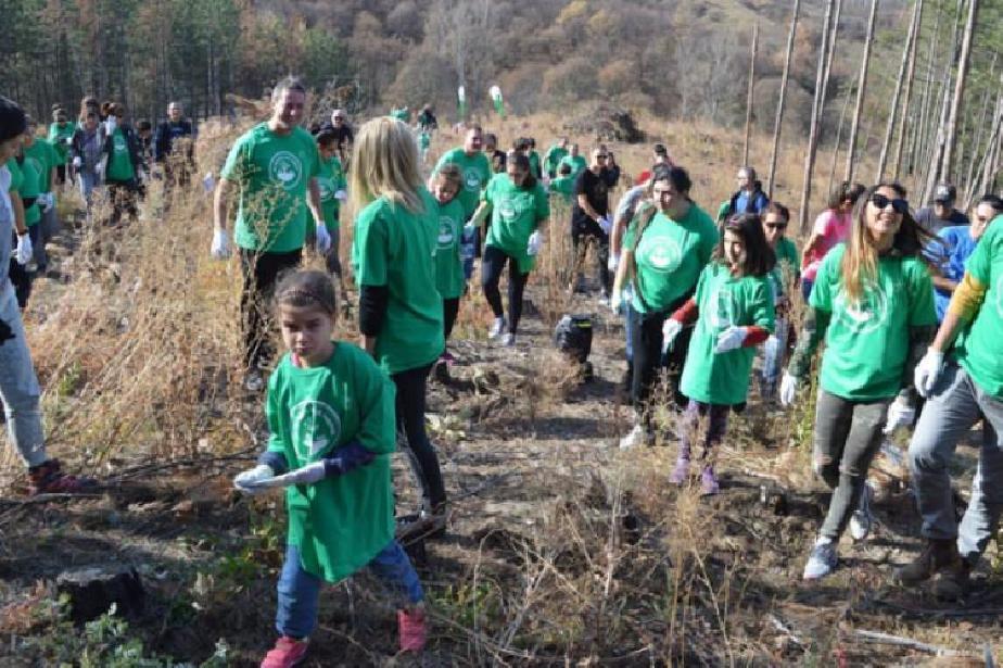 Гората.бг дарява 14 000 дръвчета на София и софиянци