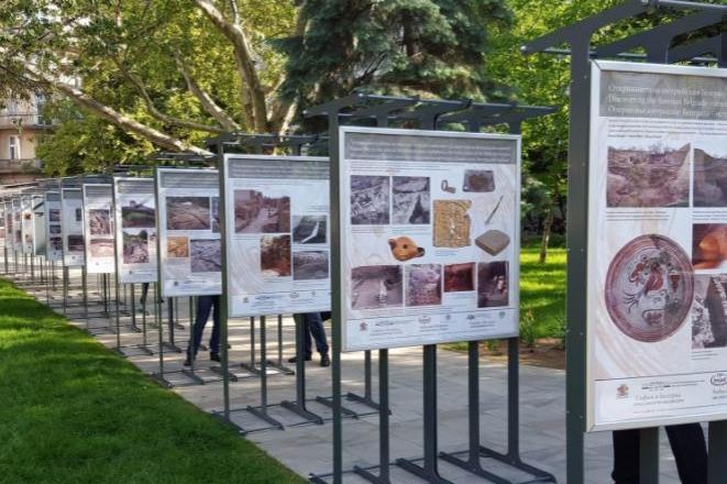 """В градина """"Кристал"""" откриват изложба """"125 години организирано тракийско дви"""