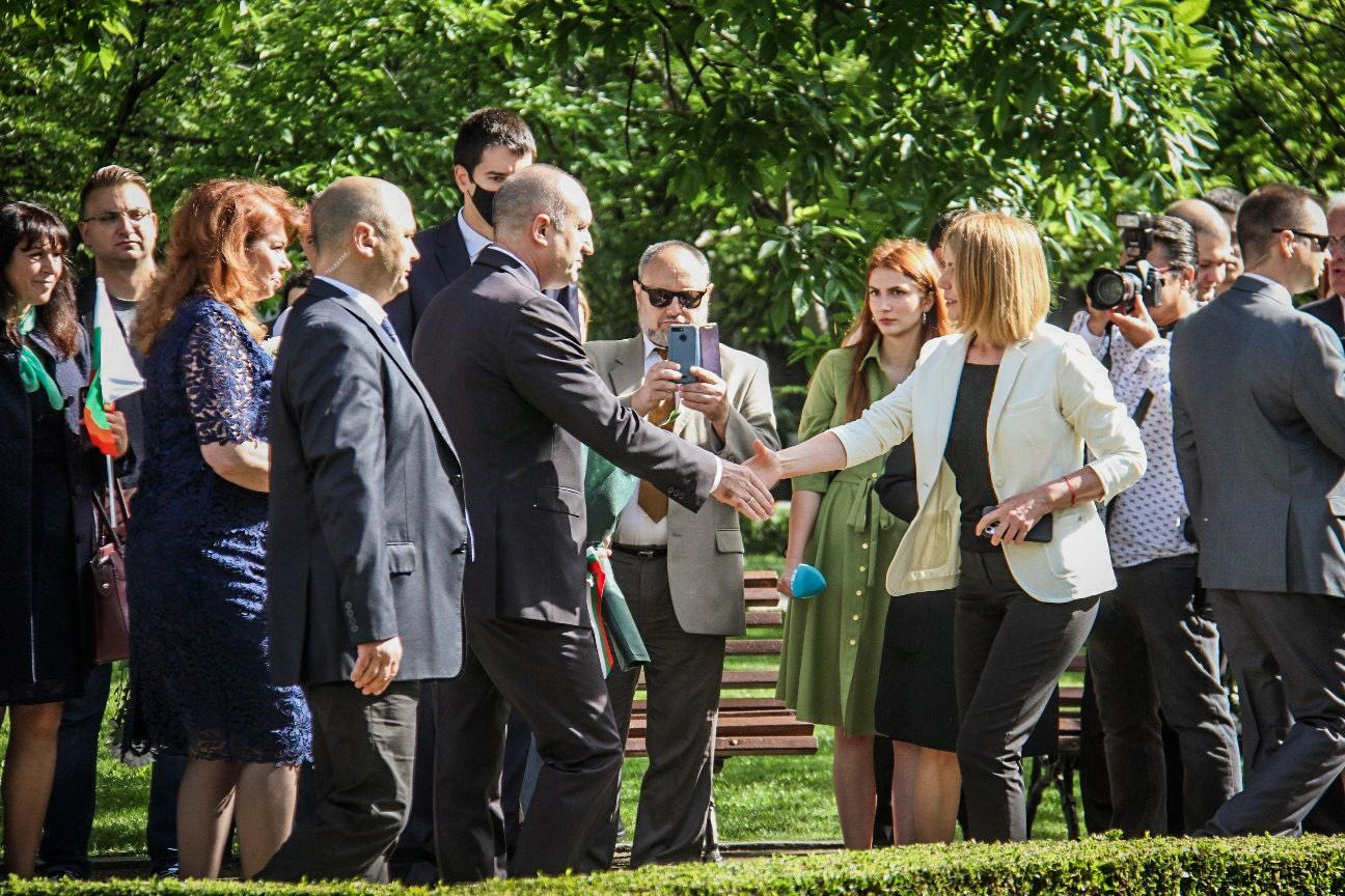 Кметът на София поздрави пазителите на българския дух (СНИМКИ)