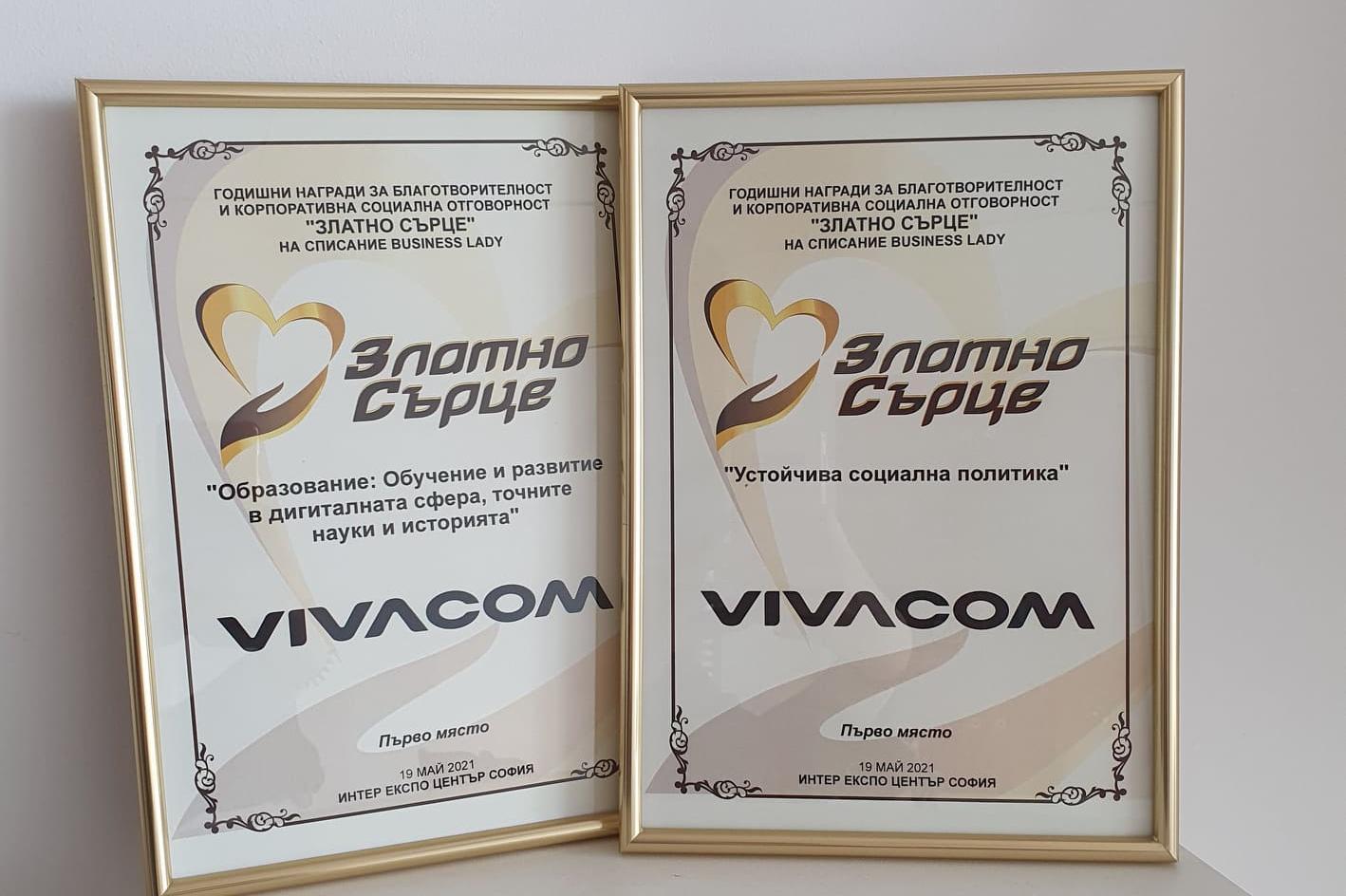 Vivacom - Златно сърце