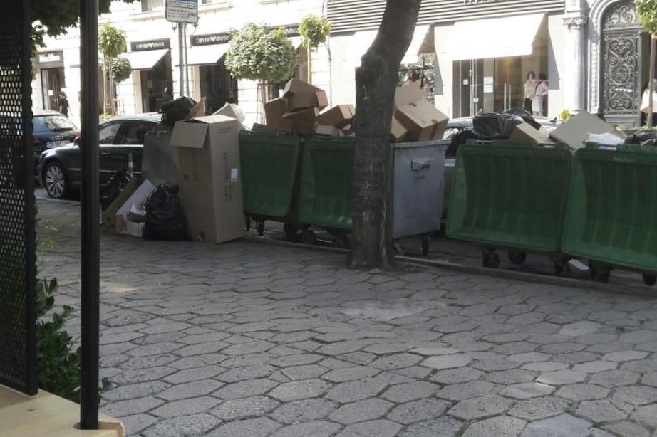 Столичен инспекторат глоби търговски обекта за смесване на отпадъци от опак
