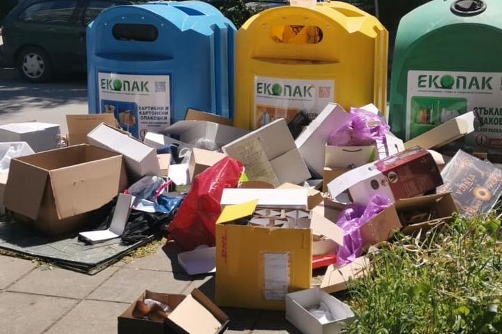 """Живеещи в """"Борово"""":  Столичният квартал потъна в боклуци, роми ровят и изхв"""