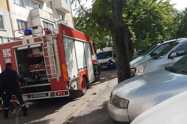 """87- годишен е загинал при пожар в столичния квартал """"Абдовица"""""""