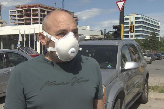 В София: Шофьор взе ключовете на друг заради каране на зиг-заг по пътя
