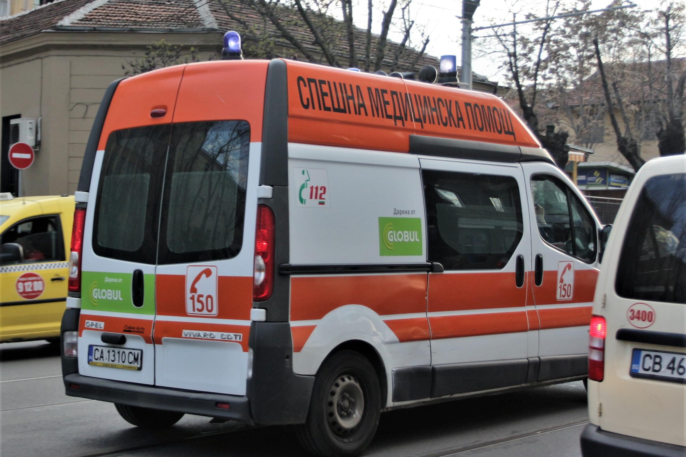 Катастрофа с три коли и един пострадал на пътя Перник- София