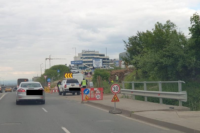 Авария затвори Околовръстното шосе (СНИМКИ)
