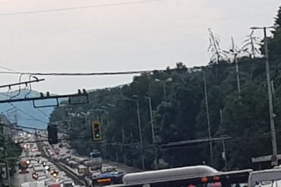 "Задръстване блокира бул. Цариградско шосе"" (СНИМКИ)"