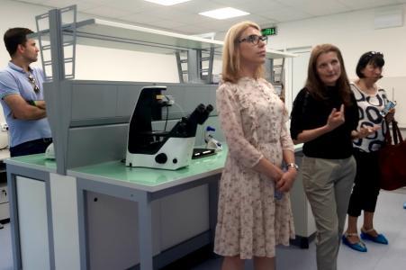 Откриха Лабораторен комплекс към Биологическия факултет на СУ (СНИМКИ)