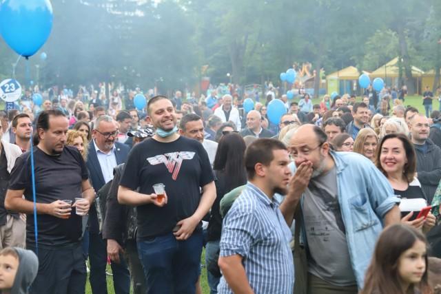 """""""Демократична България"""" откри кампанията си с концерт на Фондацията, Д2 и д"""