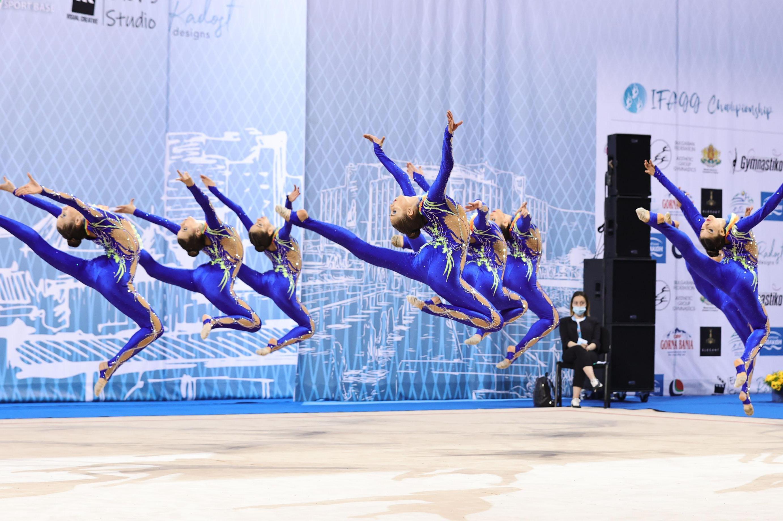 Българките завоюваха златните отличия по естеетическа гимнастика на Световн