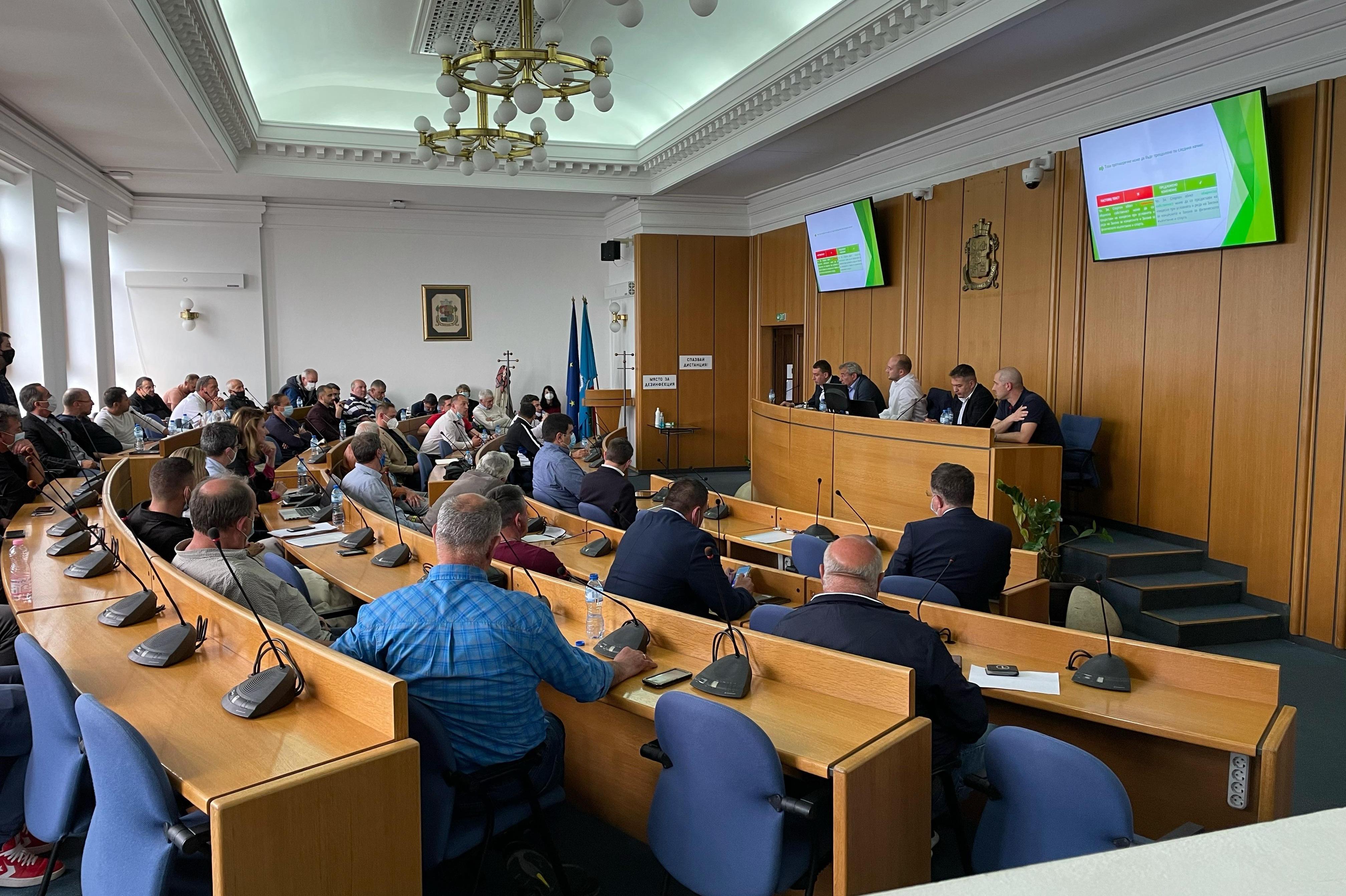 Нови възможности за спорта предлагат общински съветници от ГЕРБ-СДС в СОС (