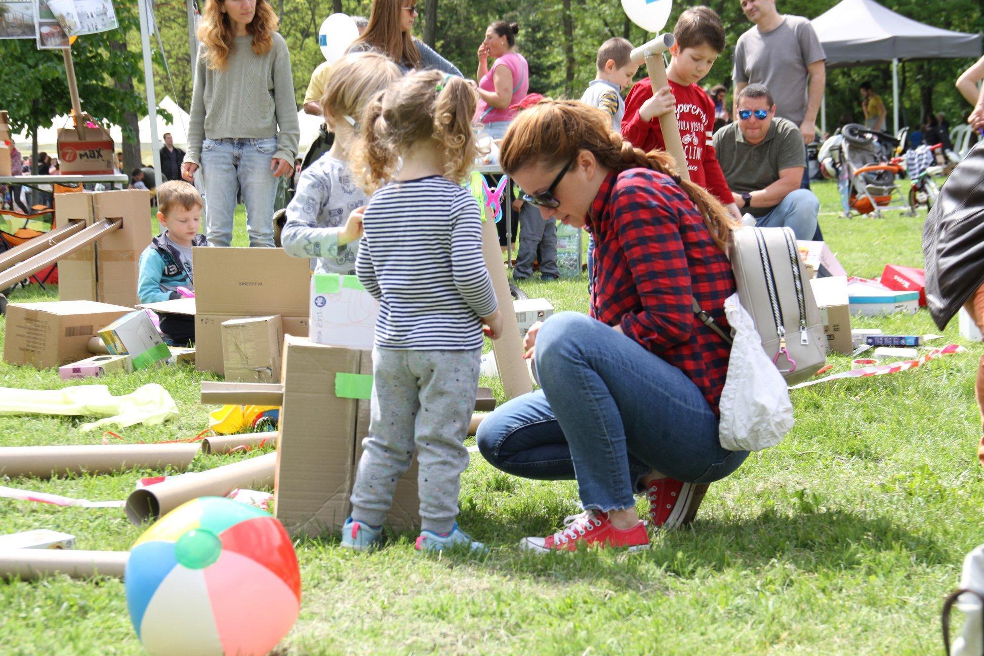 """На 13 юни """"Кашонвил"""" събира деца и възрастни в """"Слатина"""""""