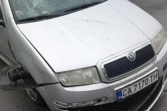 "80-годишен шофьор катастрофира на столичния бул. ""Ив. Евст. Гешов"""