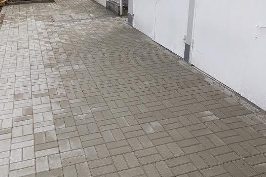 """Ремонтиран е част от тротоара на ул. """"Кораб планина"""""""